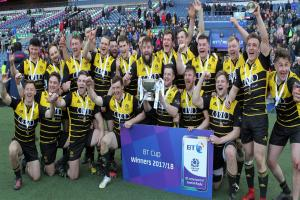 Melrose complete League and Cup double at Murrayfield