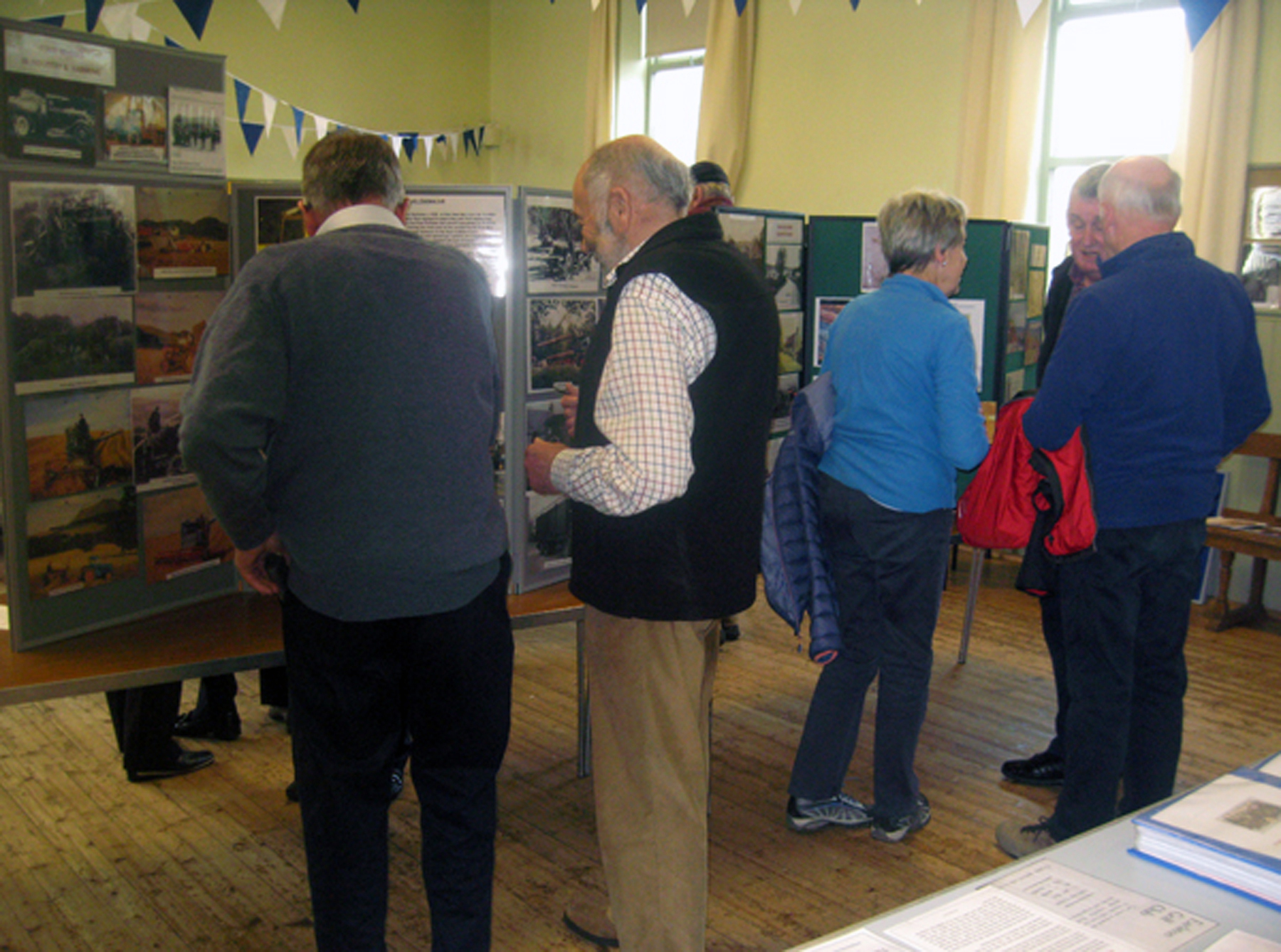 Visitors at last year's exhibition