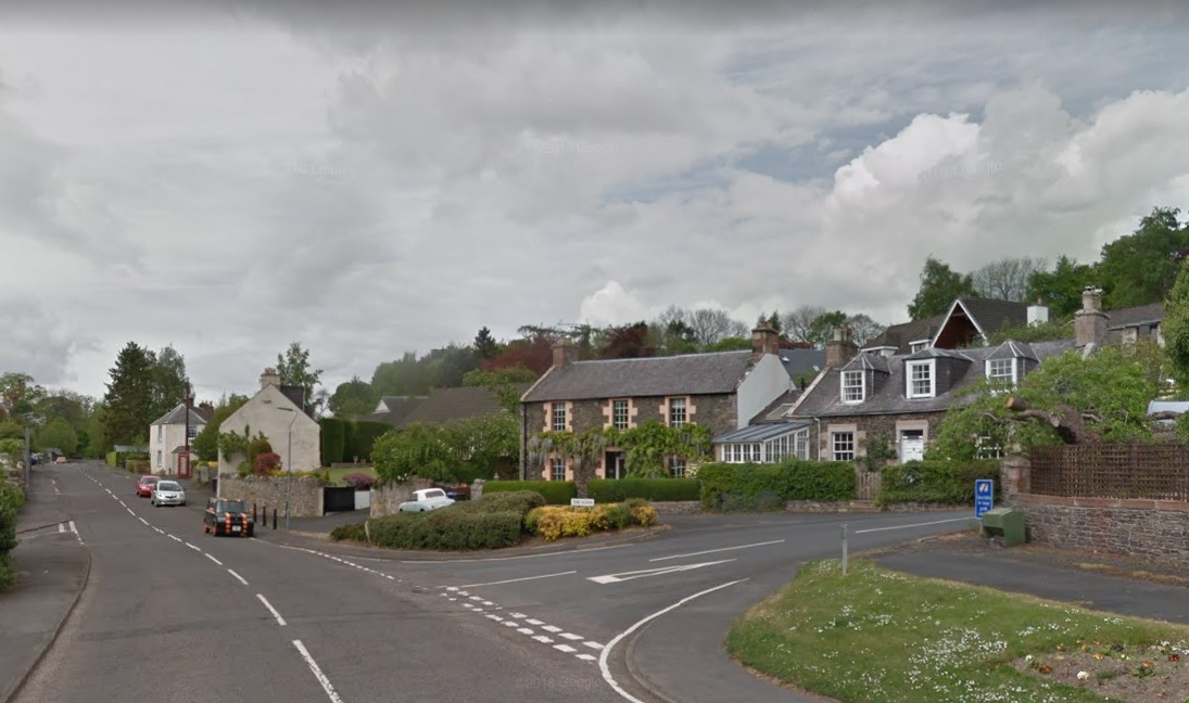 Gattonside in the Scottish Borders. Photo: Google Maps