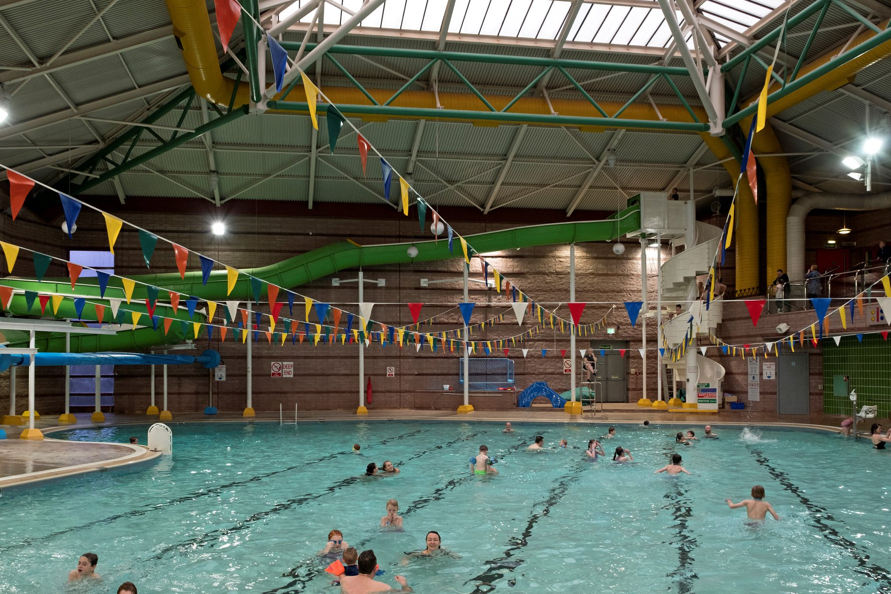 Teviotdale Leisure Centre in Hawick. Photo credit: Live Borders