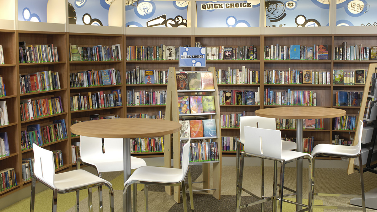 School libraries in Galashiels, Peebles and Kelso are currently operated by pupils and volunteers