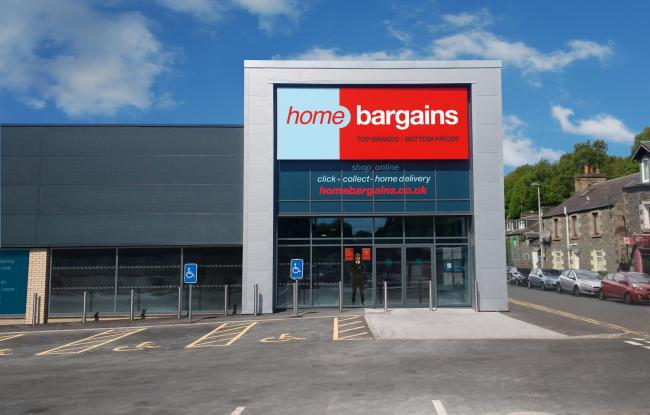 Up To 50 Jobs Created With New Home Bargains Store In Galashiels