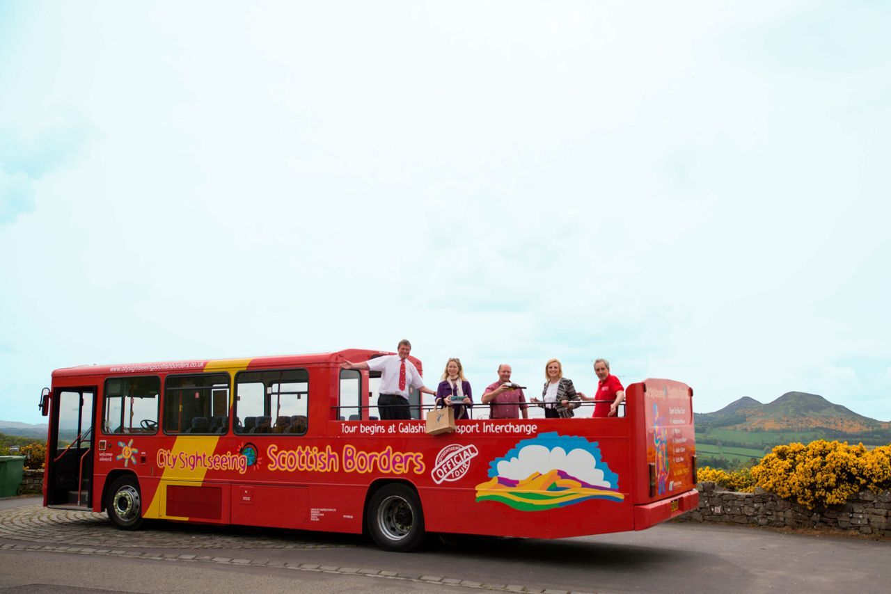 The City Sightseeing Tours of the Borders have proved popular
