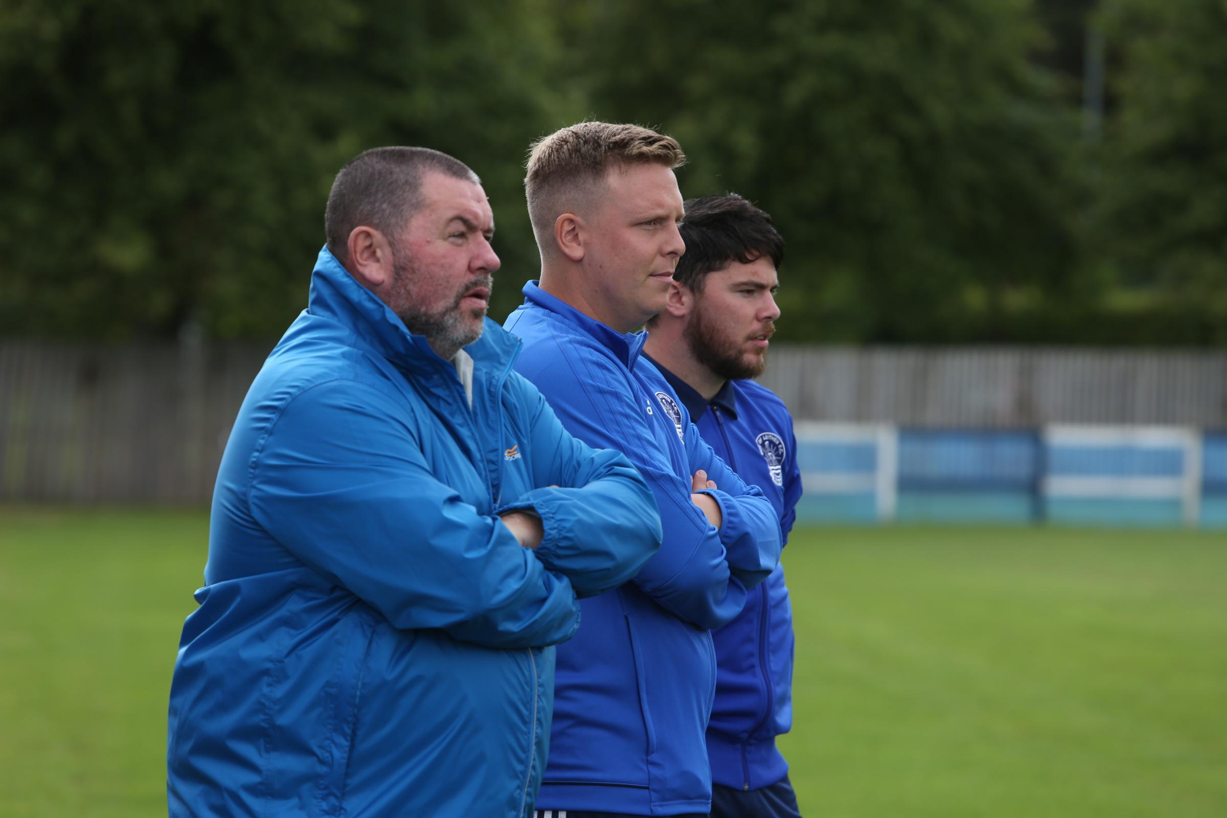 Vale coaches watch on as Jeanfield Swifts came from behind to win