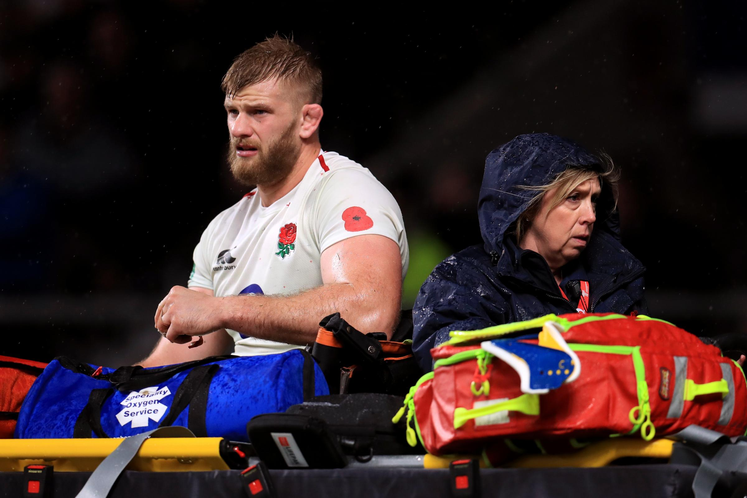 George Kruis ruled out of England's remaining autumn internationals