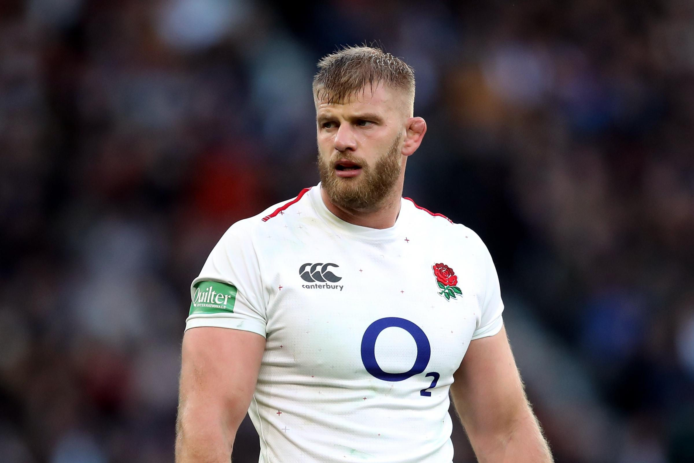 Injury rules George Kruis out of England's remaining autumn internationals
