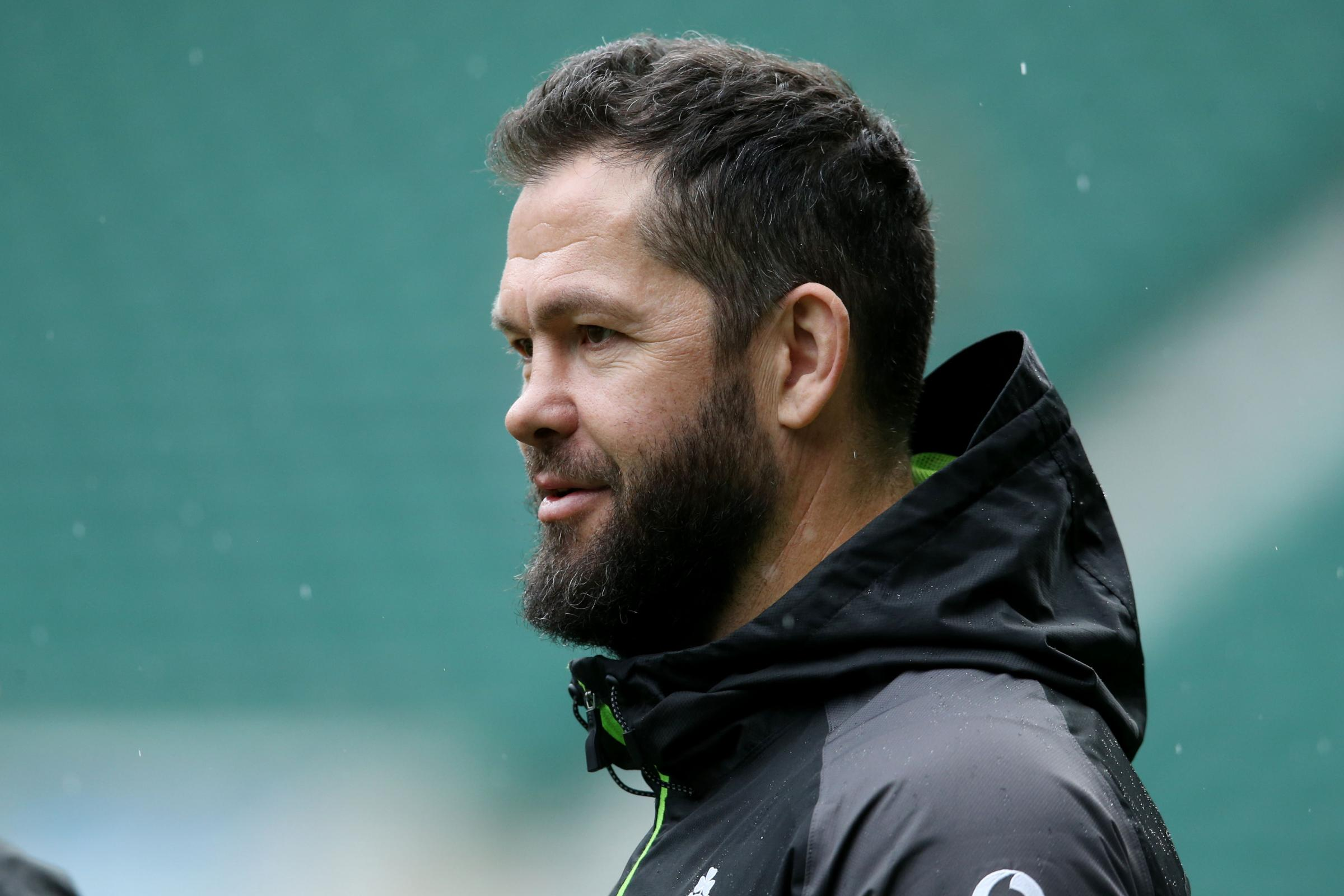 Andy Farrell insists New Zealand still the world's best even if Ireland win