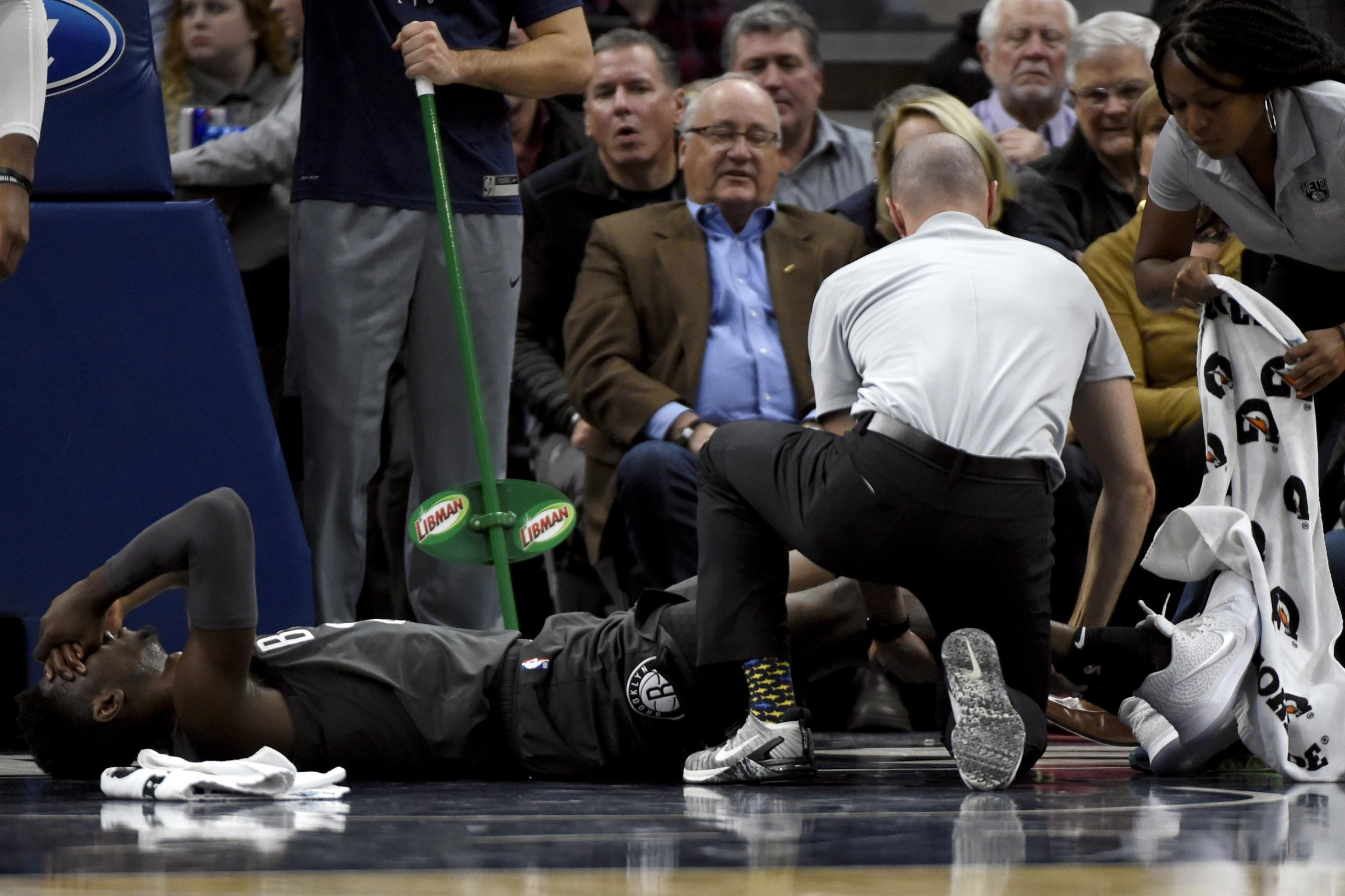 It could've been a lot worse: Caris LeVert thanks well-wishers after foot injury