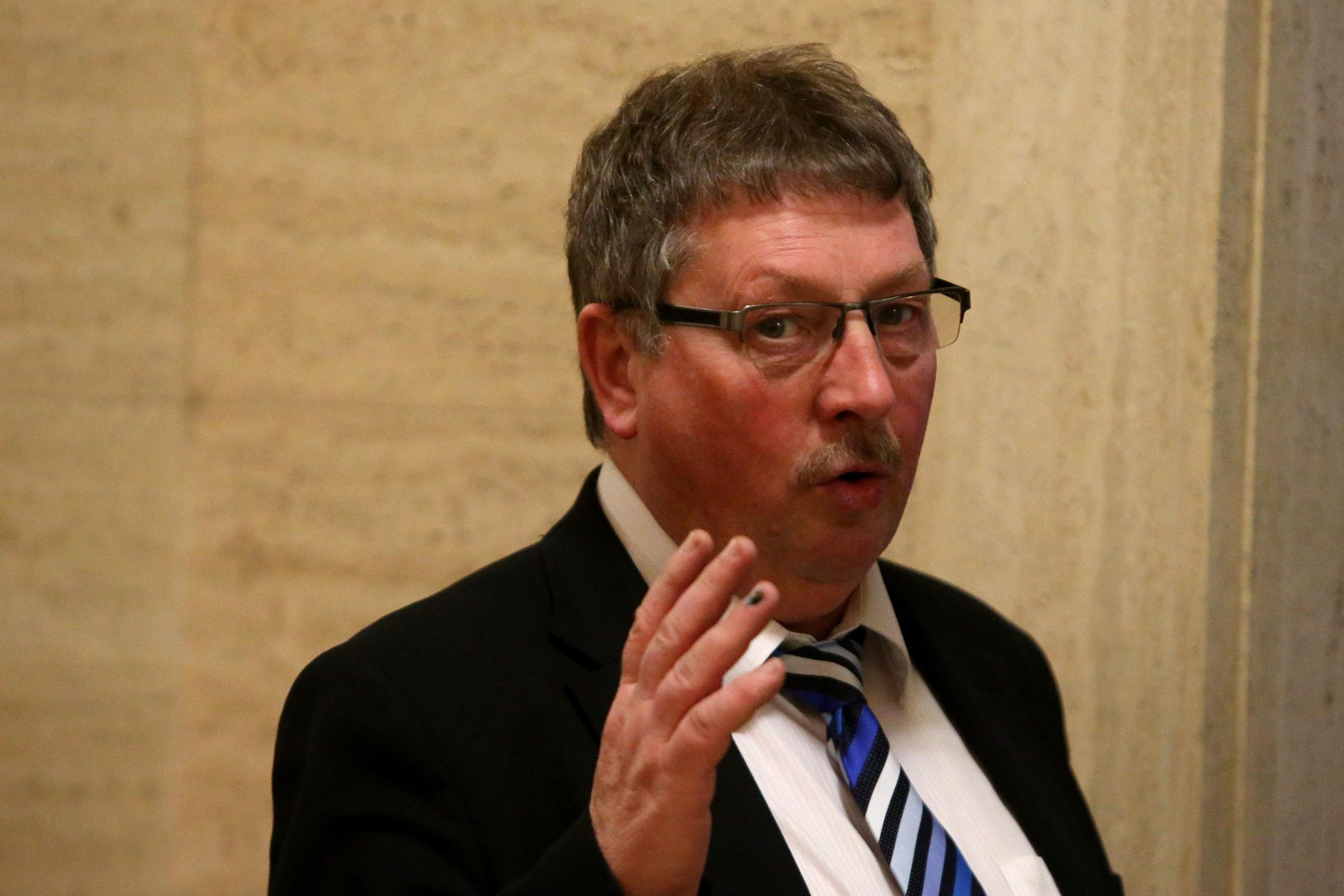 DUP MP Sammy Wilson criticised for 'punishment beating' Brexit comparison