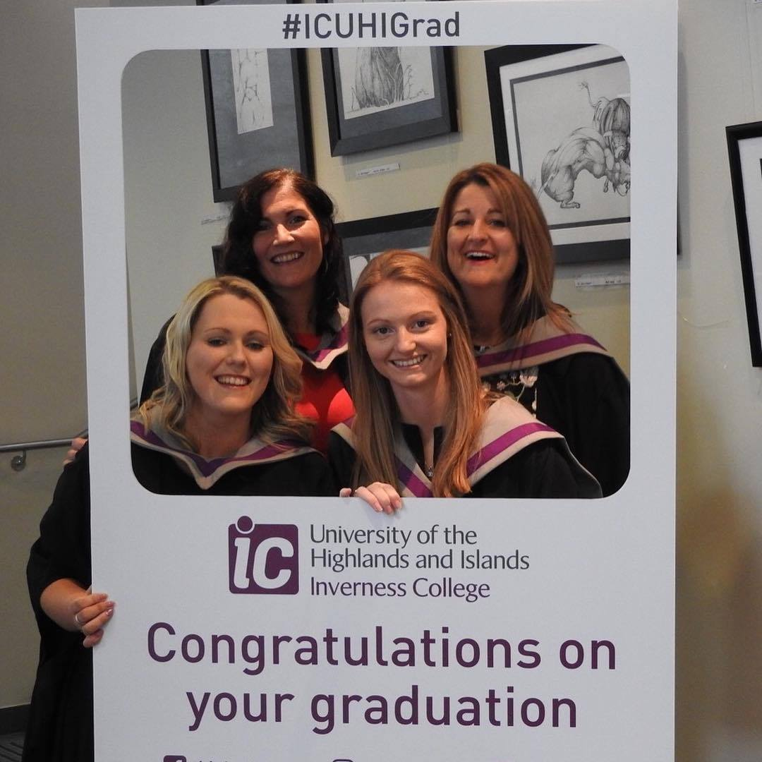 Kirsty Hill, Angela Dimmock, Emma Brotherston and Susan Grainger have successfully achieved a qualification through the scheme. Photo: SBC