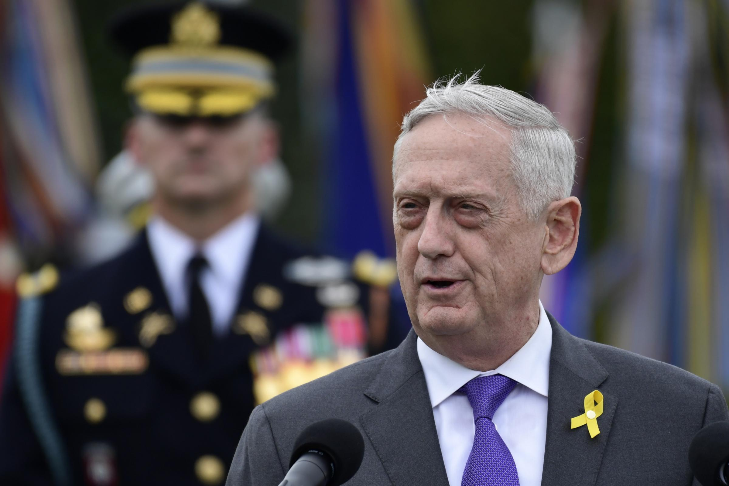 Jim Mattis to step down as US defence secretary