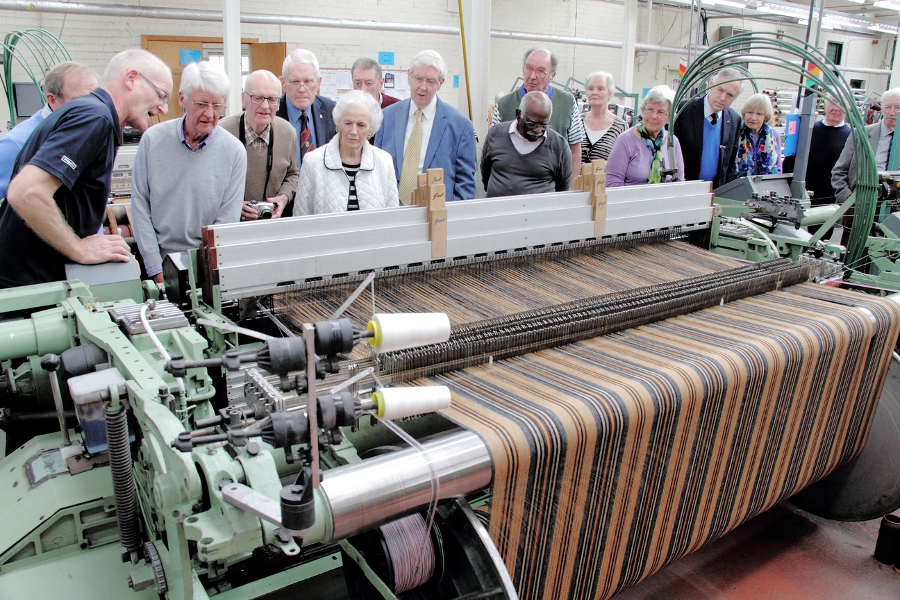 The textiles industry relies on a skilled workforce