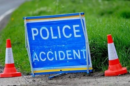 A68 re-opens after two-vehicle crash