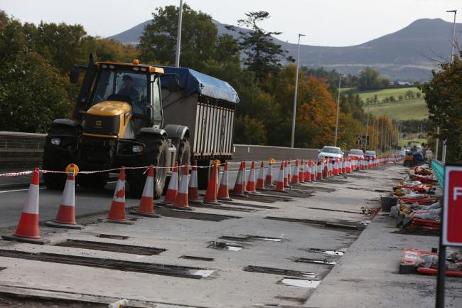 Last year's partial repairs caused congestion