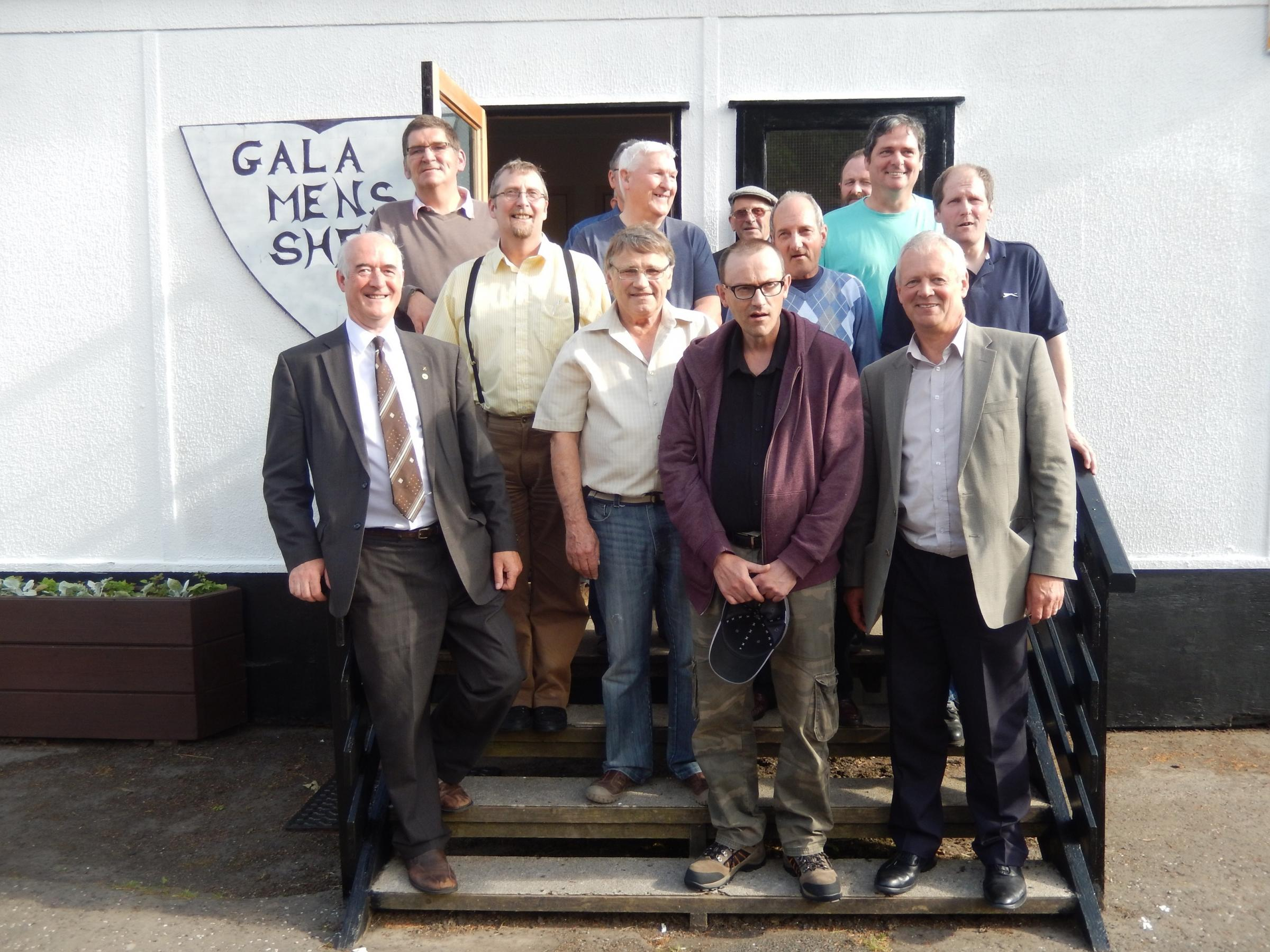 The Galashiels Men's Shed opened in 2014
