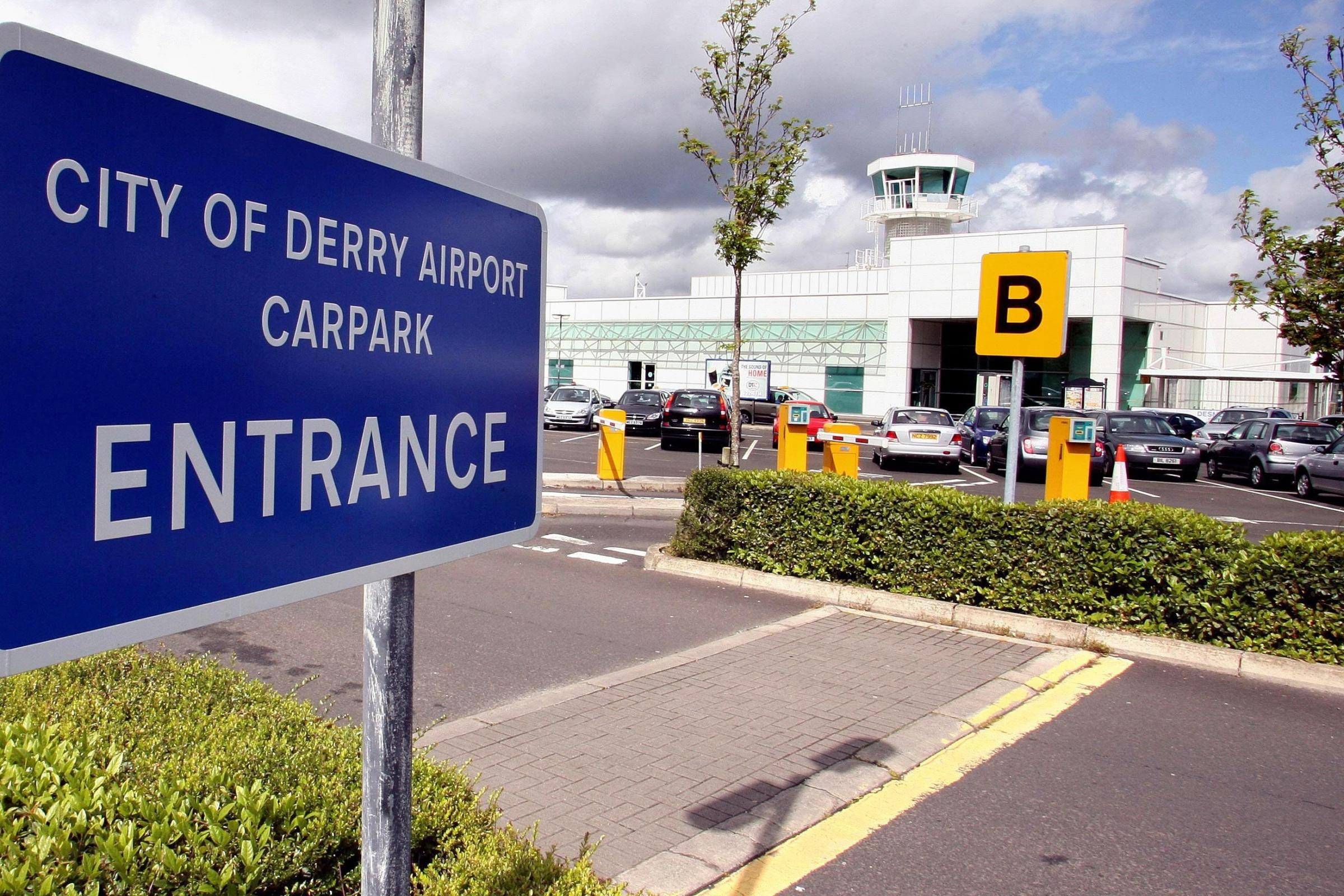 Discussions over flight suspension at Derry airport