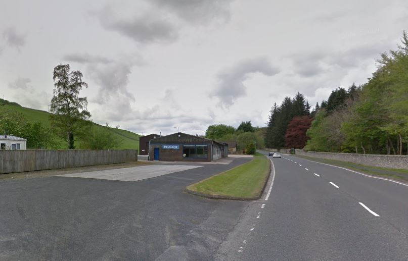 Redburn Garage, formerly Bruce Motors. Photo: Google Maps