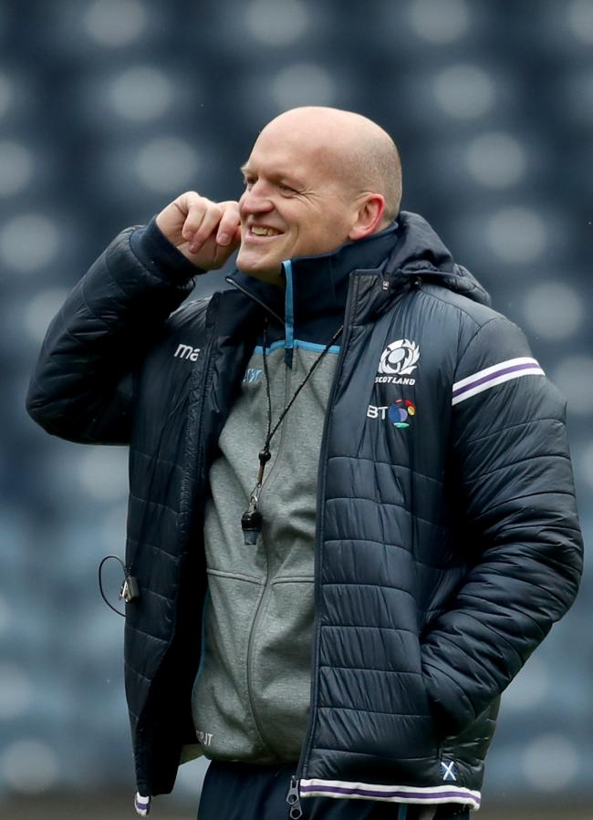 Scotland's head coach Gregor Townsend. Photo: Jane Barlow/PA Wire.