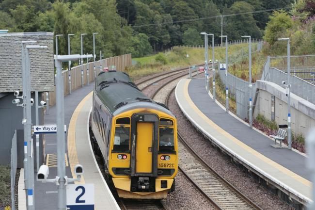 Borders Railway at Stow