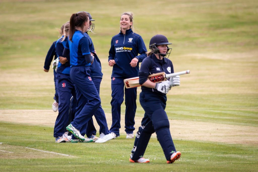 Women's cricket is growing in popularity. Photo: david Nichol