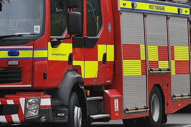 Fire causing tailbacks on the A1