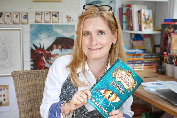 Cressida Cowell. Photo: Debra Hurford Brown/PA